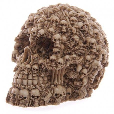 Crâne Décoration Multi Crânes