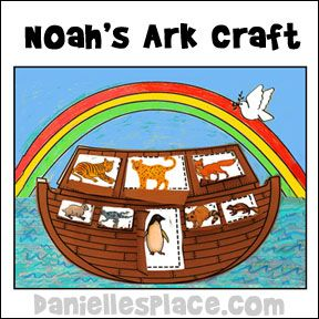 21 best images about noah 39 s ark crafts on pinterest for Noah and the ark crafts