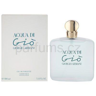 Armani Acqua di Gio toaletní voda pro ženy 1564,- / 100ml