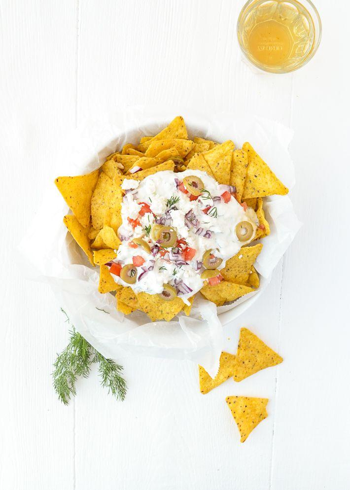Griekse nacho's