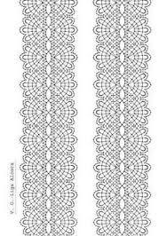 Resultado de imagen de ligas de novia a crochet