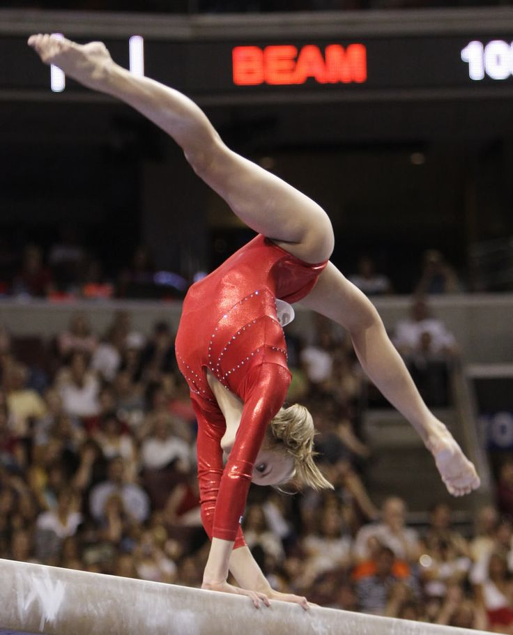 Nastia is the definition of natural talent.