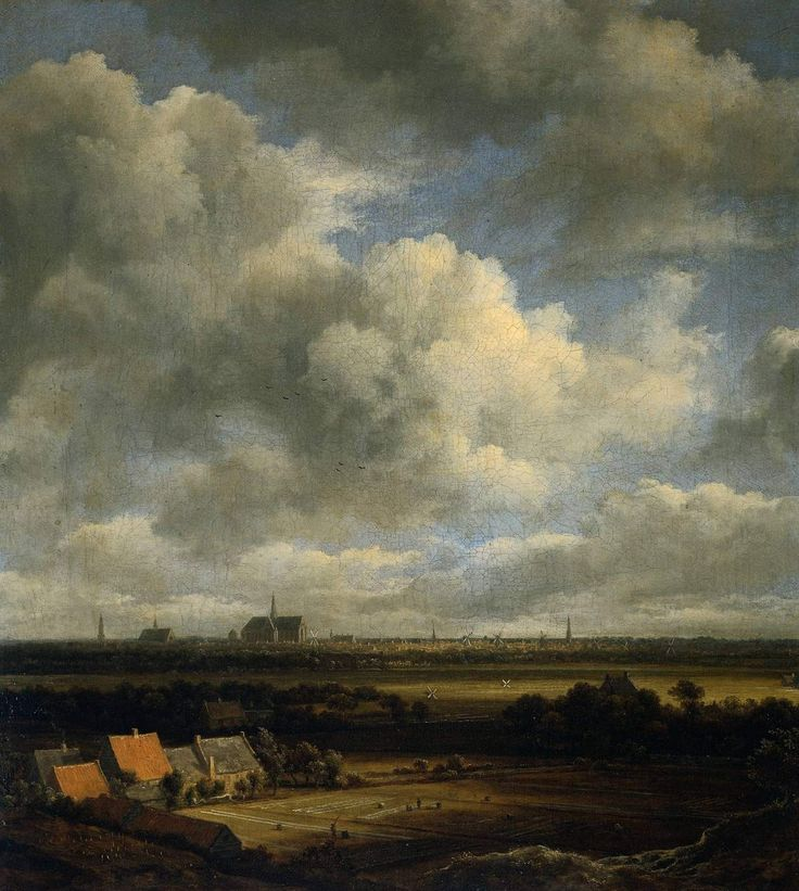 Jacob van Ruysdael, View of Haarlem, ca.1670.  Discover the coolest shows in New York at www.artexperience...