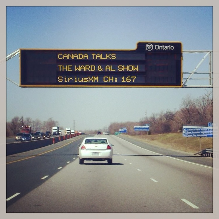 Taking over the world, one highway at a time.