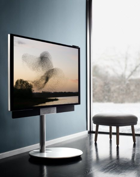 Must have gadgets for you home, like this BeoVision Avant TV Featuring Ultra-High Definition 4K images and a powerful 3-channel speaker system