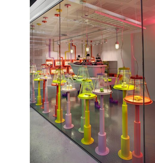 The Adriano Zumbo patisserie designed by Luchetti Krelle.