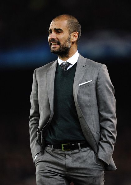Josep Guardiola in Barcelona v Arsenal - UEFA Champions League