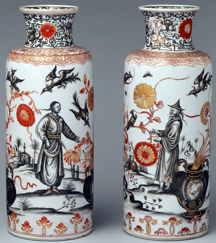 Китайские вазы шинуазри