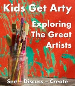 Want to do more Art with your kids? Want to learn about the GREAT artists? This post is an invaluable resource - providing links to a series of fantastic Art Projects to do with kids, as well as a great Kids Art Book resource!