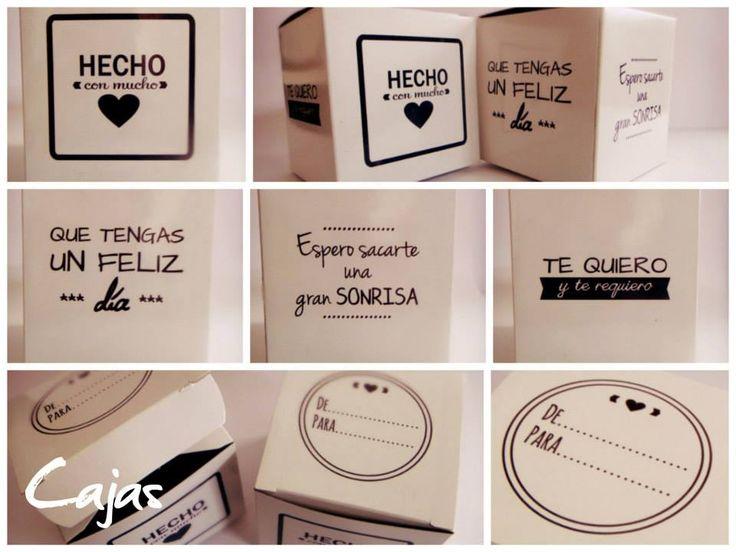:: Caja de Cartón Personalizada :: Podés elegir frases, dibujos, símbolos, fotos, dedicatorias o bien contarnos tu IDEA y la hacemos realidad. Medida: 10x10x10 cm