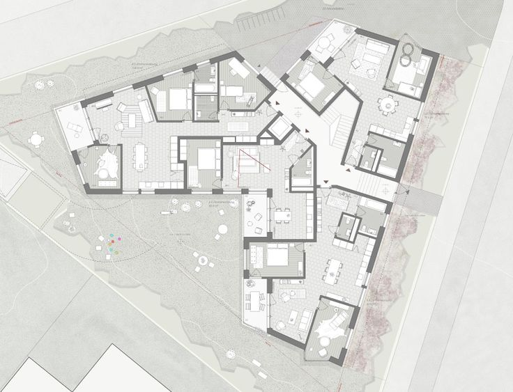 Ersatzneubau Allenmoosstrasse Rich Michael Meier Markus Hug Housing Pinterest