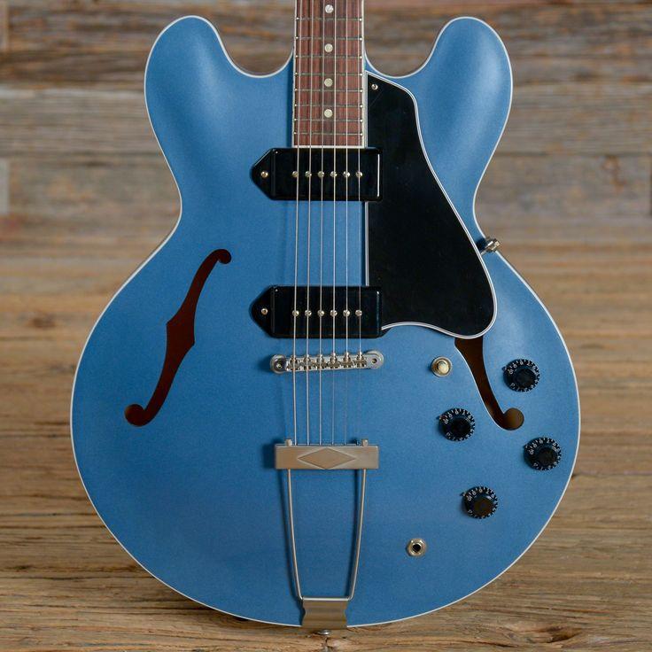 """Gibson """"Wildwood Spec"""" ES-330 Pelham Blue 2016 (s352)"""