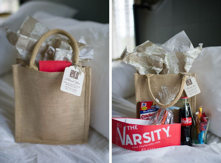 Gift Ideas For Wedding Guests At Hotel: Welcome To Atlanta Gift Bag For Wedding Guests