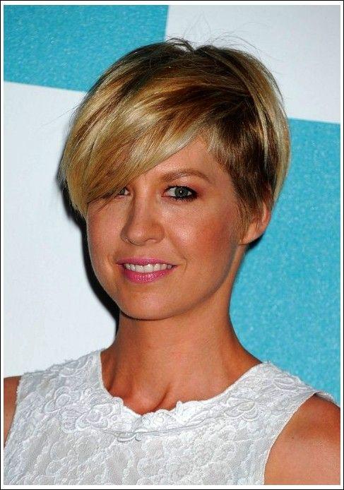 Beliebteste kurze Frisur für Frauen – Jenna Elfman ...