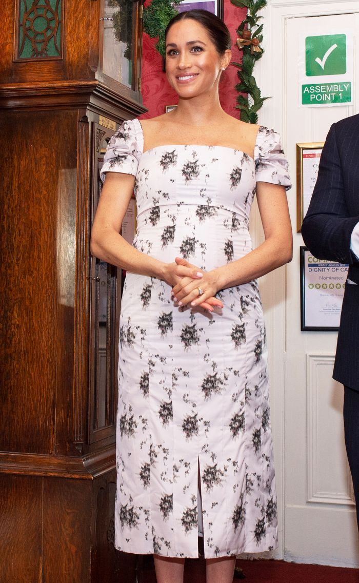 7a0e06eba411 Meghan Markle Just Wore Florals for Winter—Here's Why It's ...