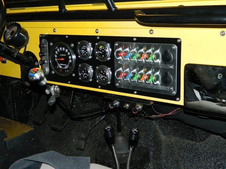 Jeep Jk Fuse Diagram Re Wire New Gauges And Dash Switch Panel Project