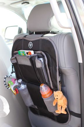 Home Grown Families: Shake Rattle and Roll Event- Prince Lionheart MOMS CAR PACKAGE * 2 stage seat saver and Car seat Organizer Review and Giveaway