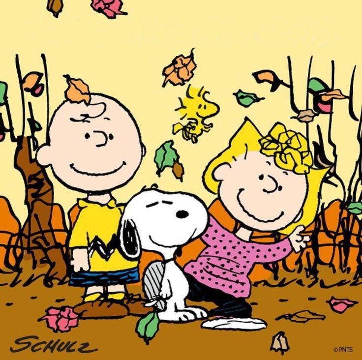 94 best SnoopyPeanuts Fall images on Pinterest  Peanuts snoopy