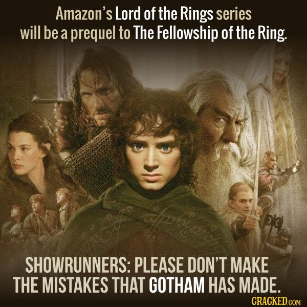 Amazon just paid half of all the money in the world to get the right to Lord of the Rings .