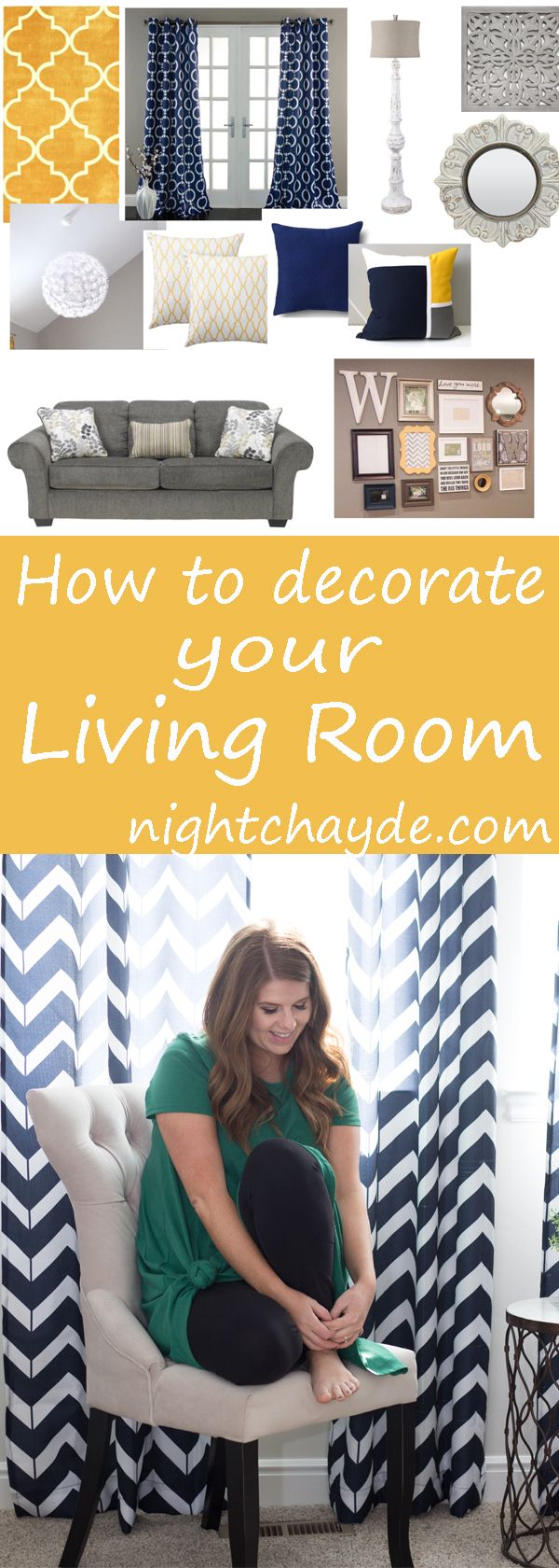 How to creat a mood board for your living room and buy all your decor on a budget. Stay on theme, on trend and on budget with these decorating tips. Your living room or other space will look better, be cohesive and you will know how to decorate on a budget.