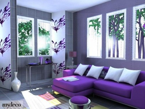 Purple Home Decor Pinterest