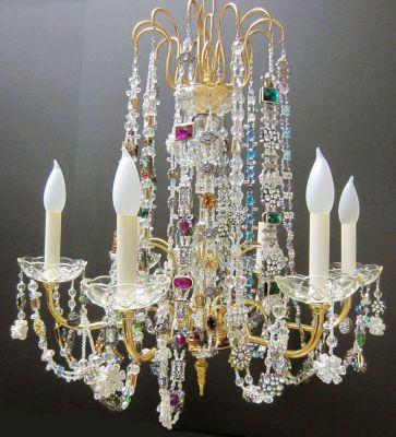52 best Chandelier Love images on Pinterest | Bedroom chandeliers ...