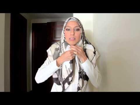 Beautiful Turkish Hijab Style 3 Ways Tutorial - Haute Hijab - YouTube