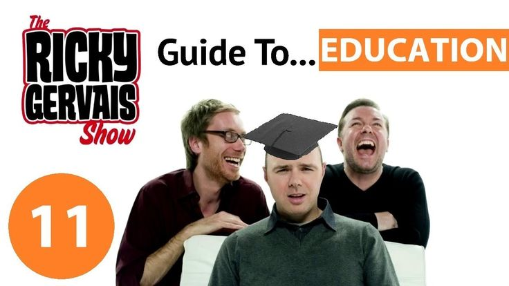 The Ricky Gervais Guide To... Education (TEST PODCAST)