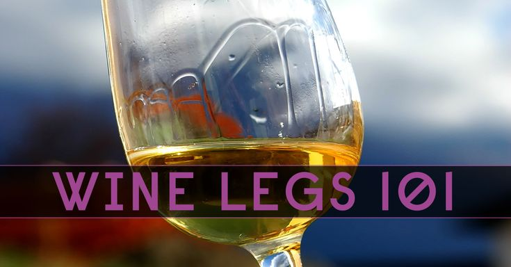 What Are Wine Legs?