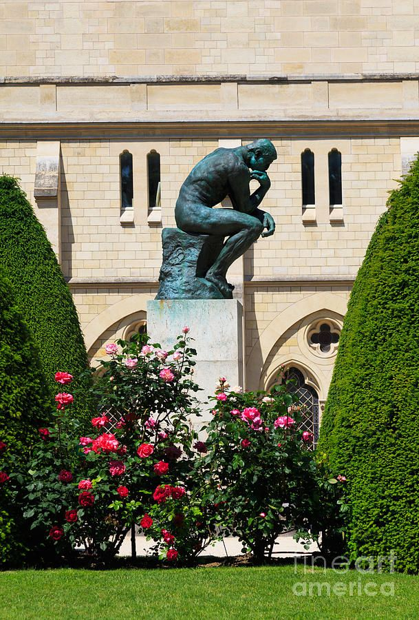 The Thinker by Auguste Rodin in Paris, France