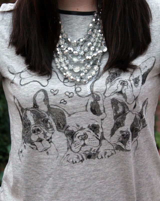 Boston Terrier T-shirt [K Storm Fashion blog