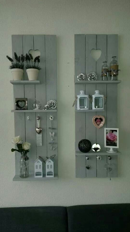 Something like this on the sides of the tv instead of a bookcase