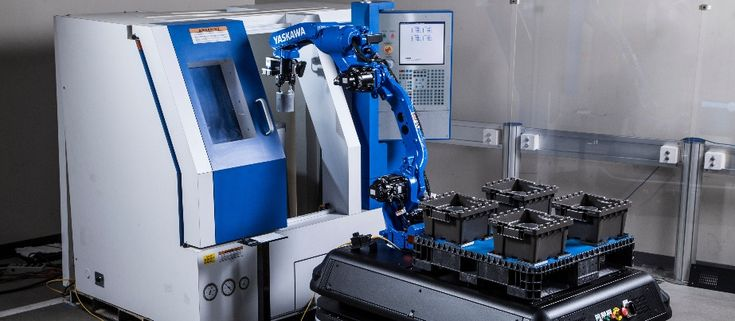 Blog: Cobots, Mobile Robotics and Machine Vision at IMTS #Yaskawa #YaskawaMotoman #IMTS #Cobots #Robots #Collaborative #Manufacturing