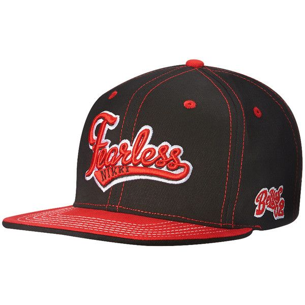 """Nikki Bella """"Fearless"""" Snapback Hat ❤ liked on Polyvore featuring accessories, hats, wwe, fearless nikki, nikki bella, snap brim hat, flat hats, snap hat, brimmed hat y snap back hats"""