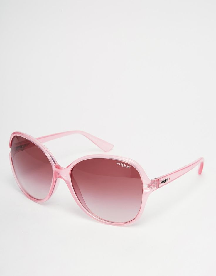 Vogue Oversized Sunglasses  Pink- http://www.siboom.pl/vogue-vo2972s-56-18-w44-11-black-gray_cena.html |
