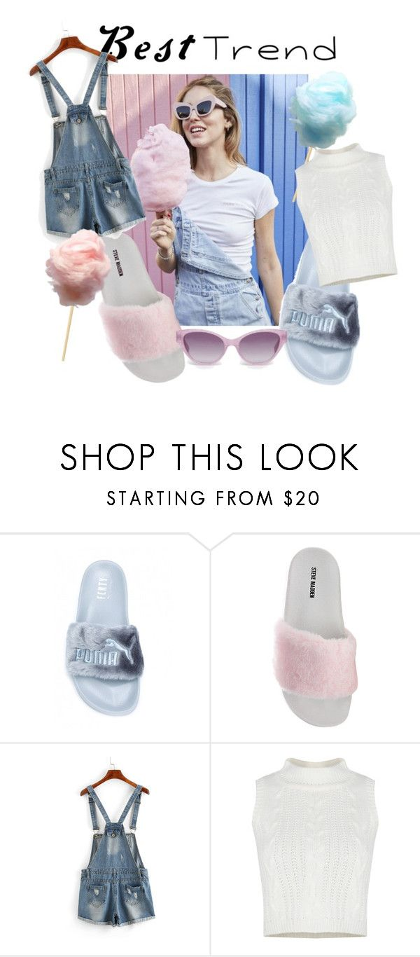 """""""#BestTrend"""" by viviana-esposito-1 ❤ liked on Polyvore featuring Steve Madden and Heidi London"""
