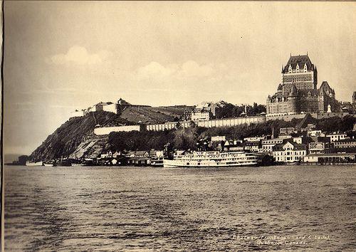 Chateau Frontenac and Citadel, Quebec Canada