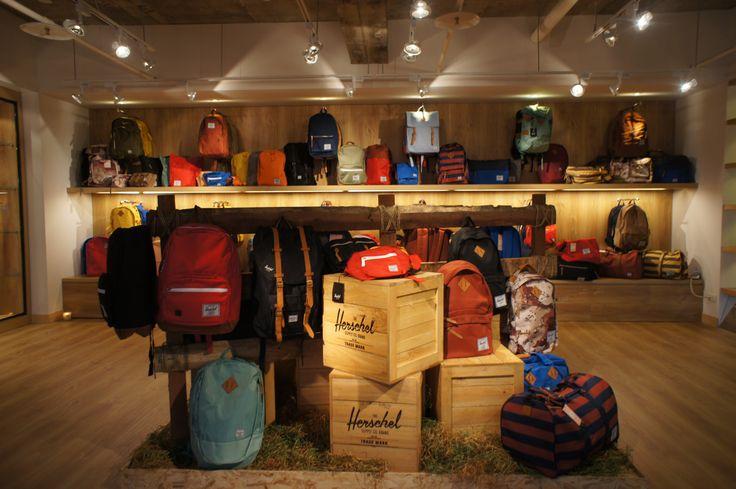 Exhibition Displays Ideas : Herschel supply co display at dstrt tw showroom