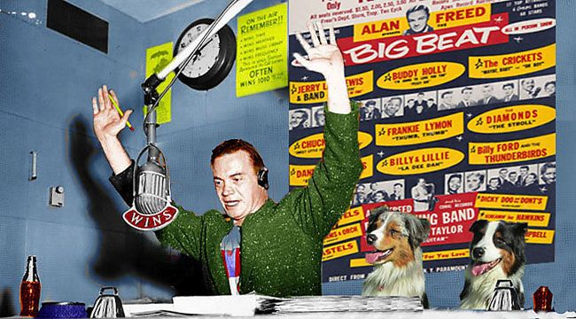 Alan Freed on Crosscurrents, 12/15