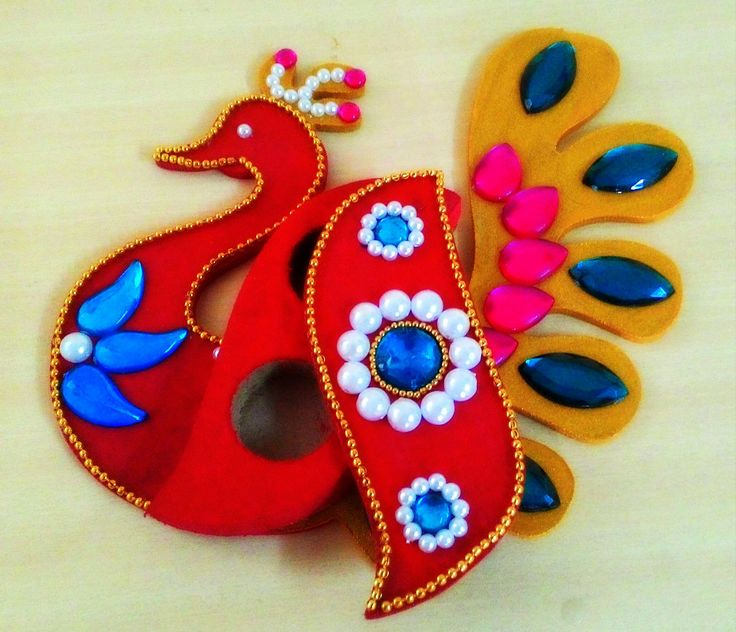 Haldi Kumkum box. Beautiful handicraft for your Sankranti gift.