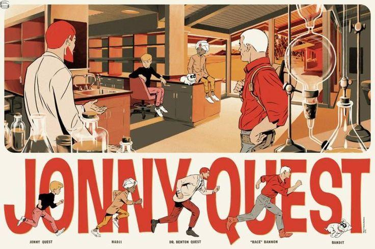 Jonny Quest 14 Ghostco - 1st