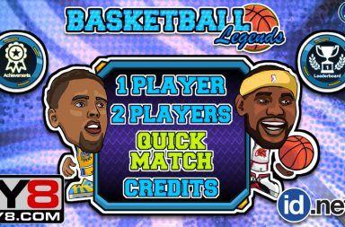 Basketball Legends Unblocked Games Yandere Games Basketball
