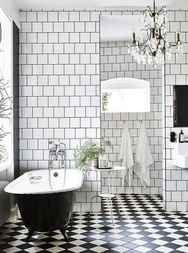 DOMINO:16 Perfect Bathrooms We're Pinning Right Now