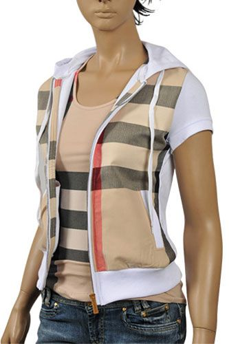Womens Designer Clothes | BURBERRY Ladies Cotton Hoodie #83