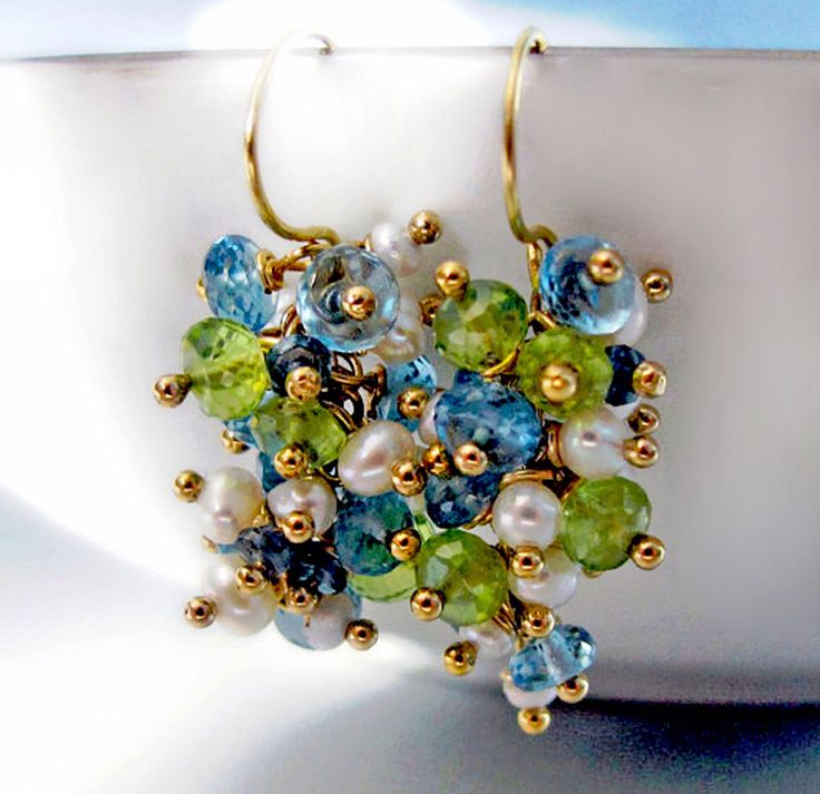 1000 Ideas About Cluster Earrings On Pinterest Vintage