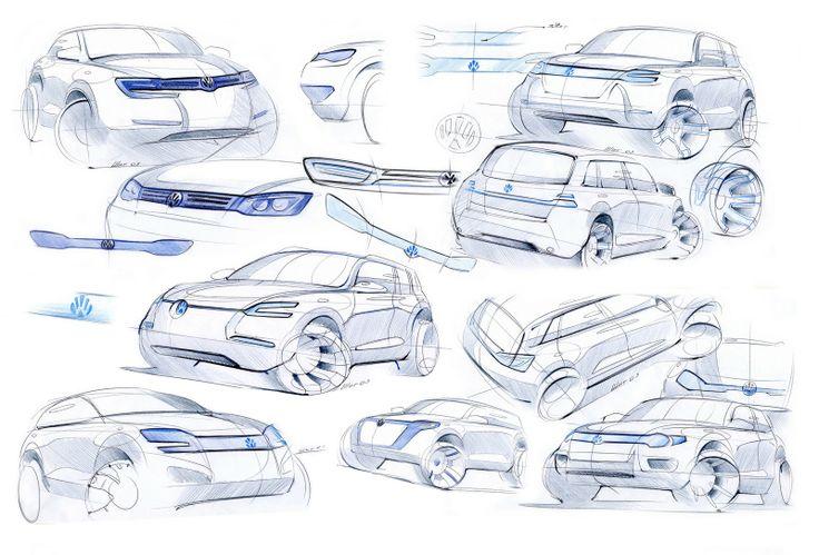 VW Touareg - By Vladimir Schitt.