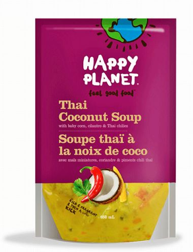 Thai Coconut Soup  Happy Planet- Must go to Canada, or try to find someplace online that sells this!