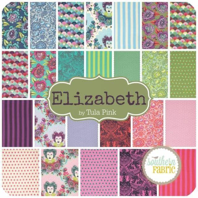 תוצאת תמונה עבור tula pink elizabeth fabric