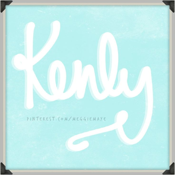 """Unisex baby name Kenly. Kenly / Kenley can either come from English via place words Cena Leah, """"woodland clearing,"""" or from Scottish name McKinley,  meaning """"son of Finlay."""""""