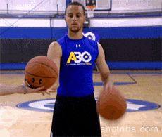 Stephen Curry Shooting Jump Shot(25)